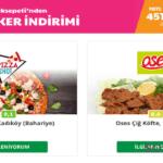 Yemeksepeti Joker İndirimleri (İzmir)